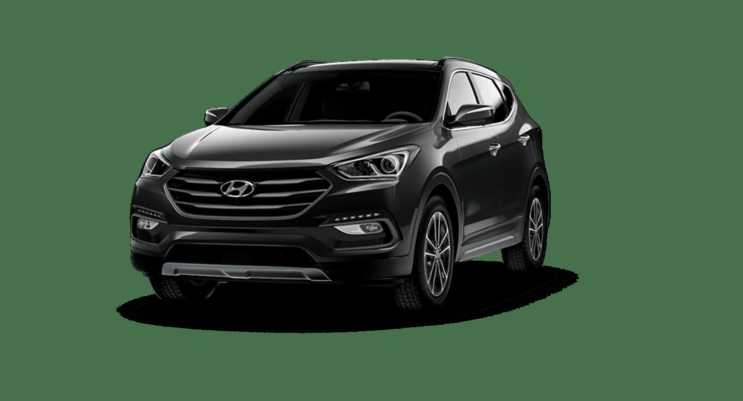 Black Hyundai Santa Fe